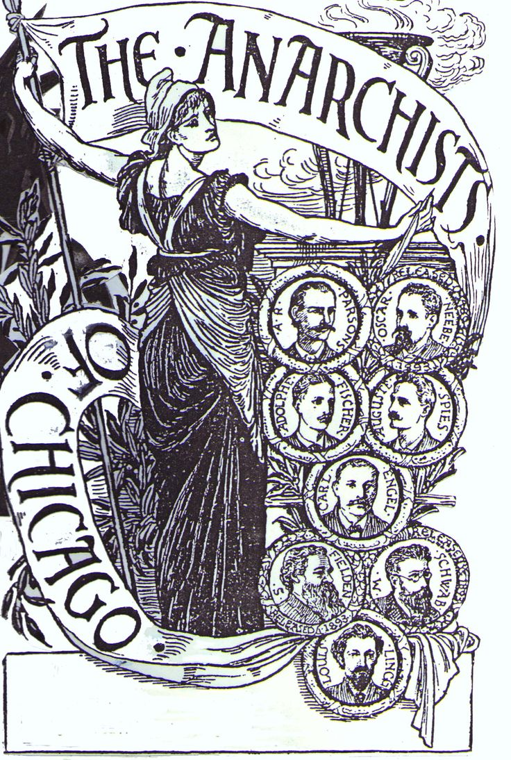 i love the composition of this print of the haymarket martyrs.