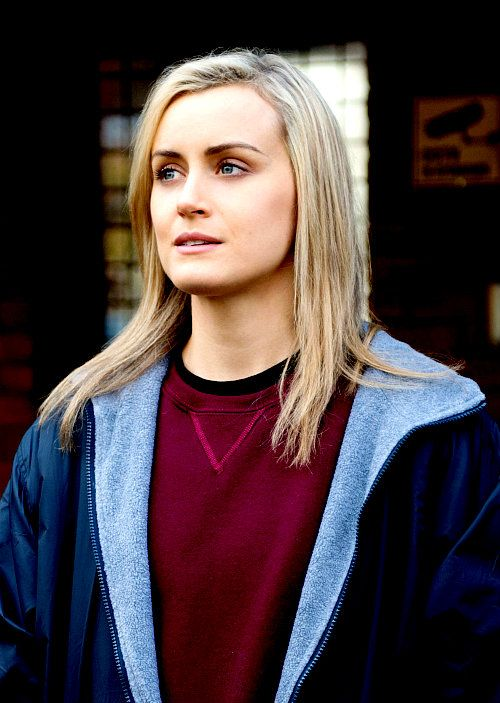 """I love the idea of people starting off kind of fucked up and getting more fucked up. I love that. Going from bad to worse, I think that's a really interesting human situation."" - Taylor Schilling (on Piper)"