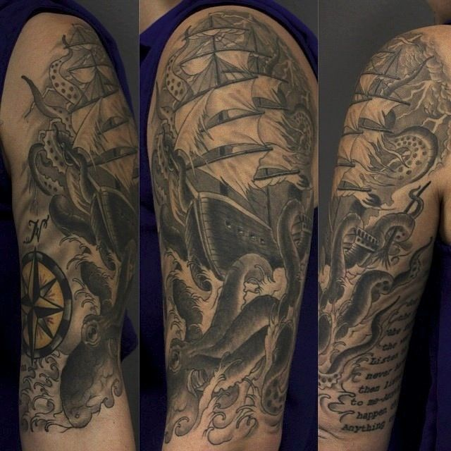 56 best images about pete vaca on pinterest san diego for Full circle tattoo