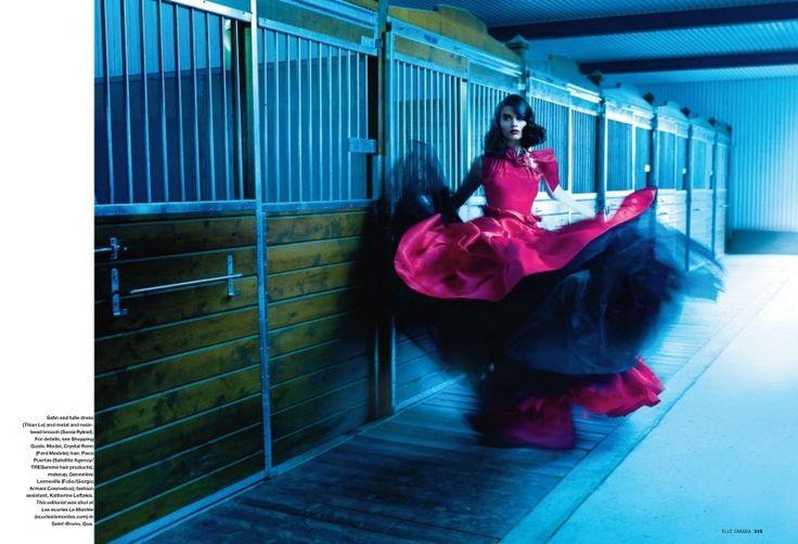 Crystal Renn / Photo: Leda & St-Jacques
