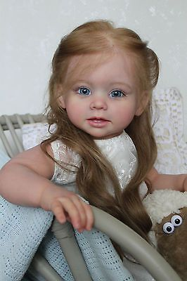 Reborn girl toddler Nicole* kit Bonnie by Linda Murray/