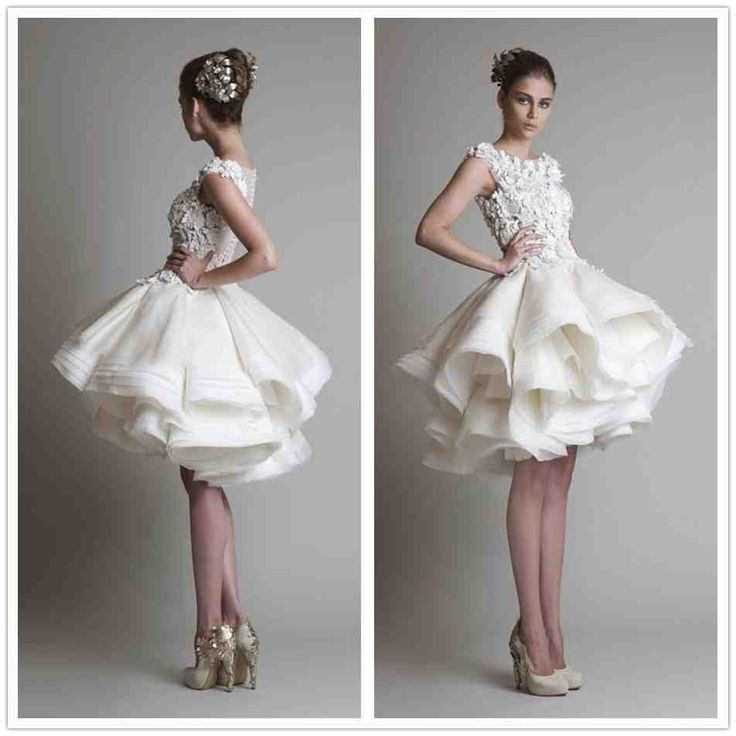 42 best Wedding Reception Dresses images on Pinterest | Short ...