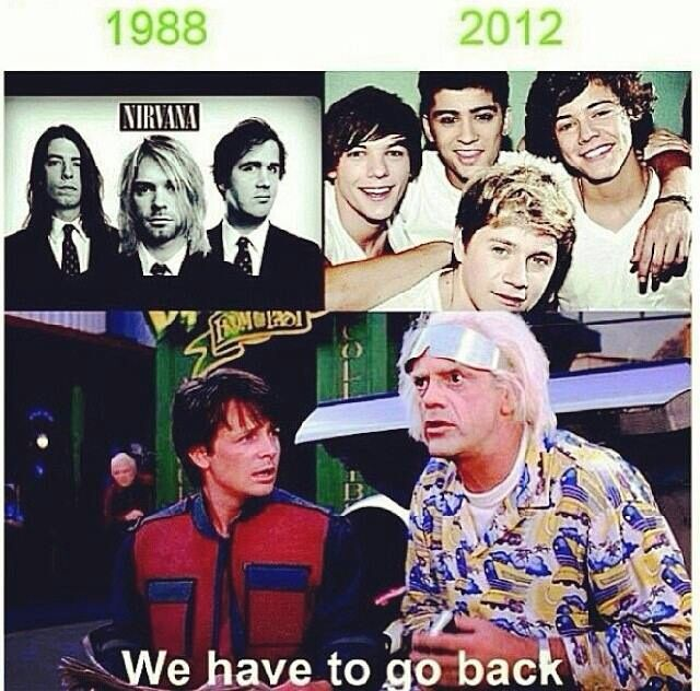 This is great, but so so wrong. The band Nirvana was still a fetus in 1988. That photo is probably from 1992 or 93.