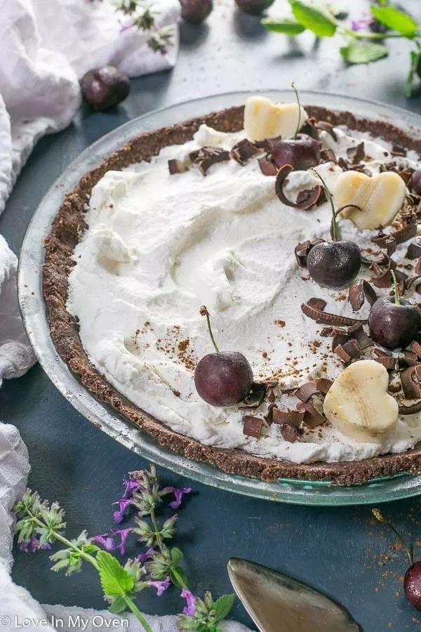 Chocolate Nice Cream Pie | Recipe | Desserts, Nice cream ...