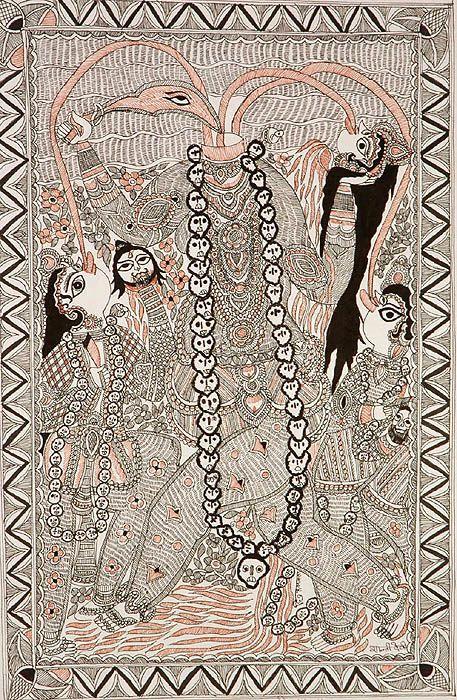 Madhubani art ideas for kids