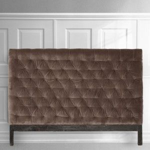 Velvet upholstered headboards from MOLLYSHOME.COM - Make your bedroom feel luxurious.
