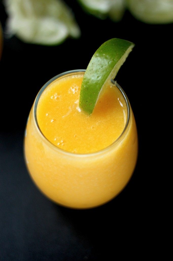 The Best Fresh Mango Margaritas! - These are truly the best! And so simple to whip up in less than 5 minutes!