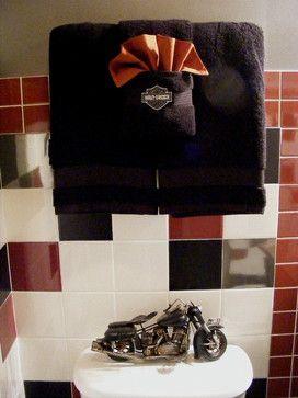 Harley Davidson Bathroom Decorating Ideas | Harley Davidson Design Ideas,  Pictures, Remodel, And