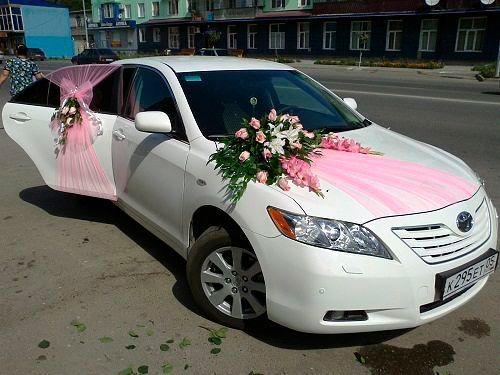 Beutiful Car For The Wedding