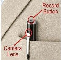 Mini Hidden Spy Pen Camera HD1280x960 Camera Micro SD Card DV DVR Video Mini Cam (16G card included)