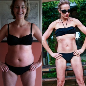Mom of 4 Shares her Thoughts on Staying Fit.. (though right now, I would settle for her before picture!).