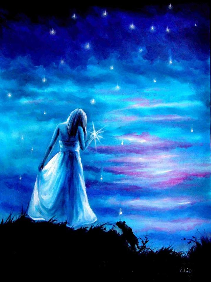 A Star From the Sky - By Elzbieta Mozyro