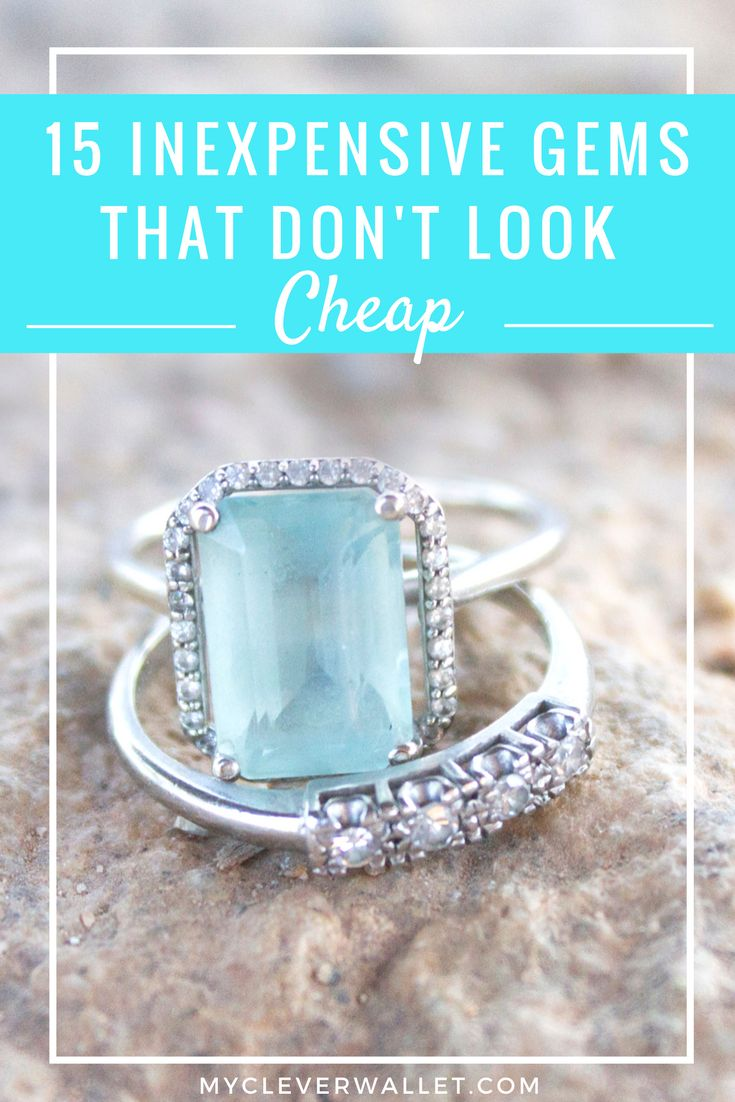 inexpensive engagement rings when you are on a tight budget. Gorgeous stones that cost far less than their diamond counterparts.
