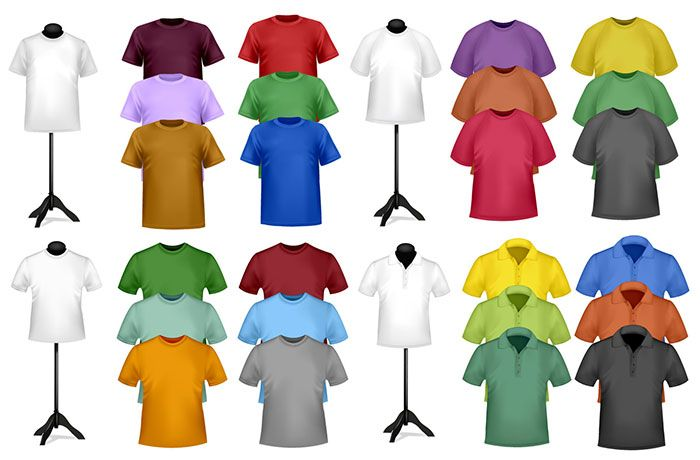 Shortsleeve tshirt template 03