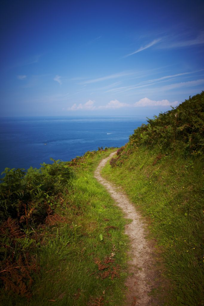 Coastal path in Jersey, Channel Islands #EscapeToJersey