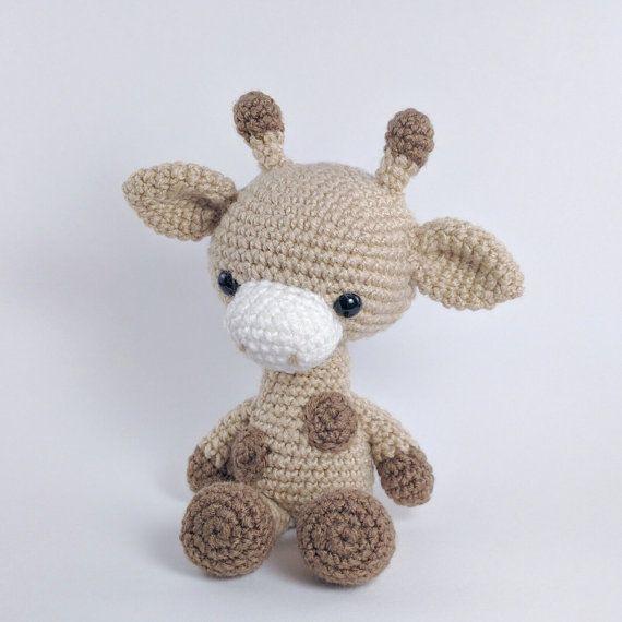 Amigurumi Giraffe Kostenlos : PATTERN: Crochet giraffe pattern - amigurumi giraffe ...