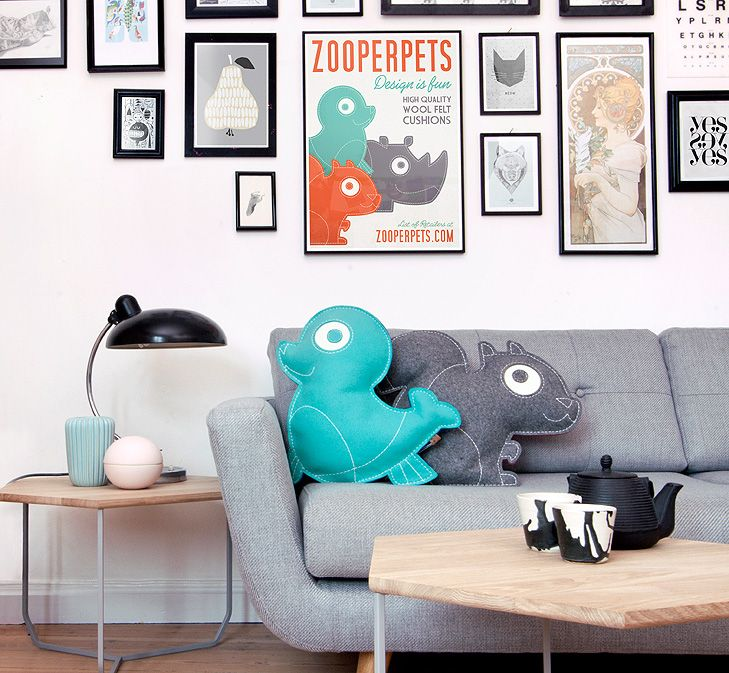ZooperPets Softies Pillows #interiordesign #softies #pillows