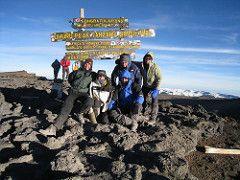 Governor Gary Johnson at the Top of Kilimanjaro. visit www.garyjohnson2016.com