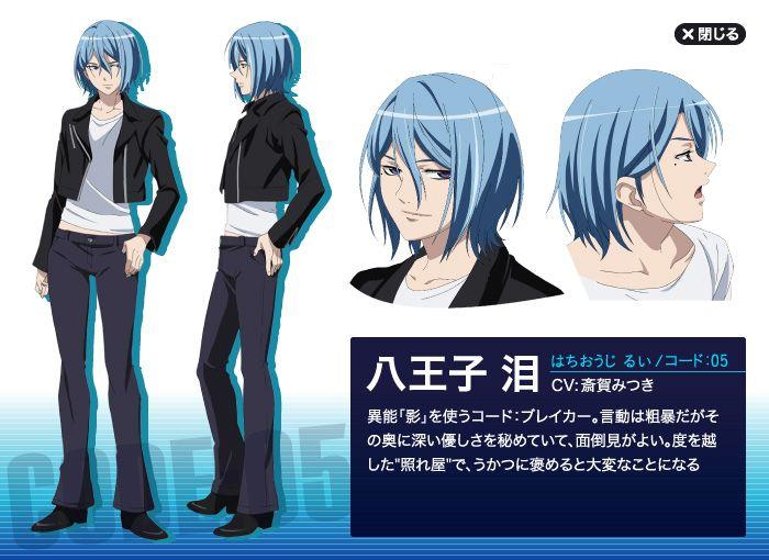 Rui Hachiouji - Code Breaker