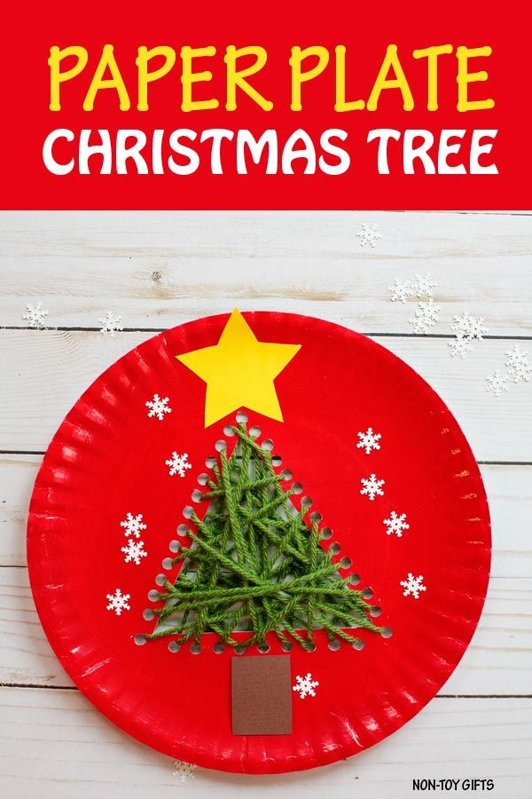 Paper Plate Christmas Tree Craft For Kids Preschooler Craft Christmas Tree Crafts Preschool Christmas Crafts Preschool Crafts