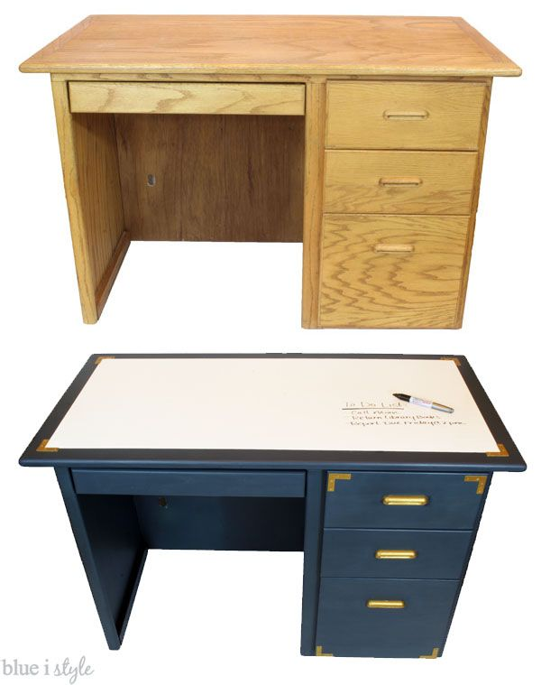 desk tops furniture. brilliant tops diy with style campaign style desk makeover a dry erase top and tops furniture