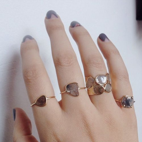 Diamond Slice Rings | Vale Jewelry