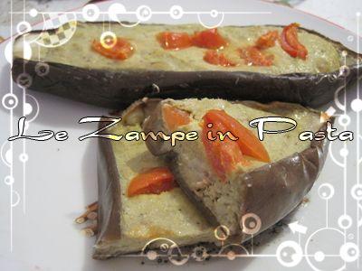 Le Zampe in pasta: Le mie melanzane ripiene