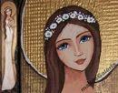 Anioły - galeria - e-maluje  Anioły na drewnie recznie malowane...hand made... Angel Angels Aniołek Anioł Stróż pamiątka chrztu Aniołek Stróż obraz ikona prezent na ślub, komunię , chrzest, urodziny, podziękowanie, WYJATKOWE MALARSTWO, KOLOROWY ŚWIAT PEŁEN DOBREJ ENERGII...