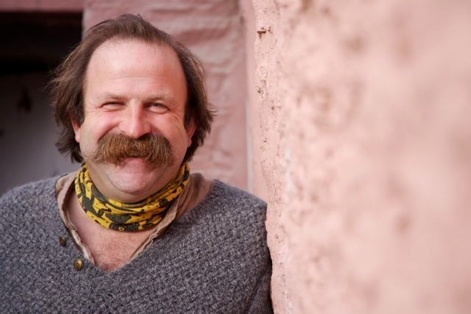 Dick Strawbridge - TV presenter, eco-engineer, ex-army colonel and proud owner of a moustache!