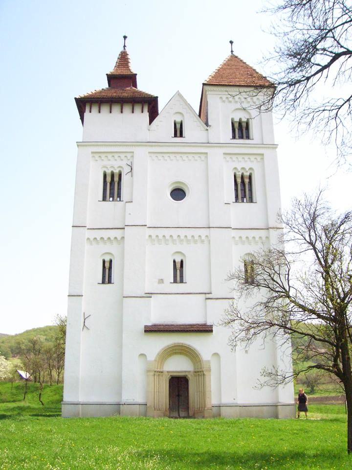 Join buildyful.com - the global place for architecture students.~~Romanesque Church (13th century) from Herina, Bistrita Nasaud County