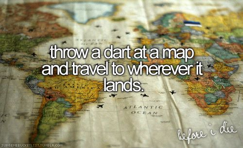 supreme bucket list (tumblr) I think it's a cool idea. One day, when I'm rich an traveling the world