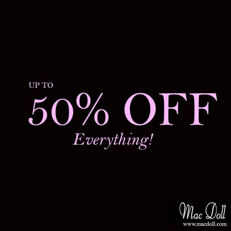 up to 50% OFF EVERYTHING on www.macdoll.com xx #fashion #clothes #dresses