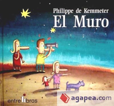 EL MURO / Philippe de Kemmeter. En algún lugar del espacio, en un planeta muy pacifico, la familia Blink vive muy tranquila. Hasta el día que...  #valores #tolerancia