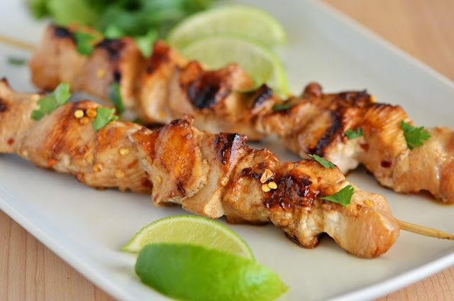 Honey Lime Chicken Marinade recipe from The Country Cook.