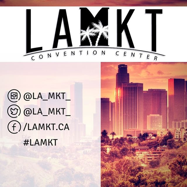 The #CAGiftShow is now #LAMKT! More news to come. Be sure to follow us on our new social handles!