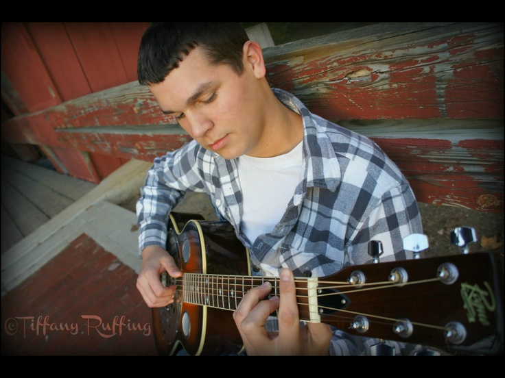 Guitar senior picture