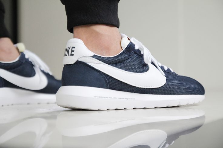 """Image of  A Closer Look at the fragment design x Nike Roshe LD-1000 SP """"Dark Navy"""""""