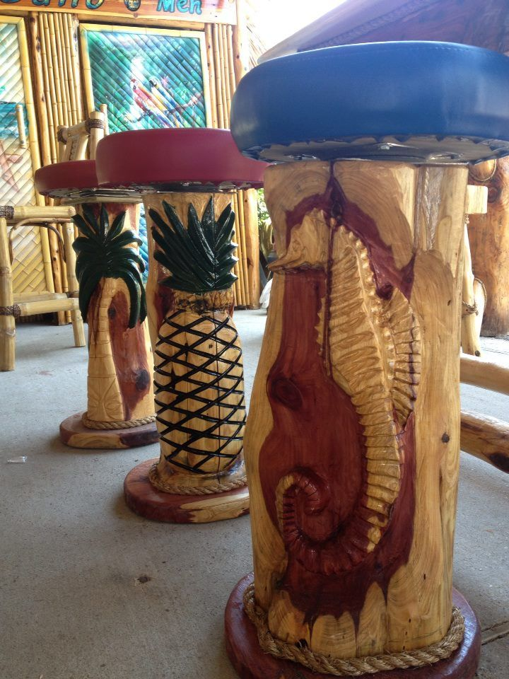 Bamboo Furniture, Cedar Furniture,Tiki. Tropical ArtworkTiki BarsCedar  FurnitureOutdoor ...