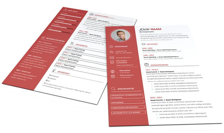 1000  ideas about cv format on pinterest