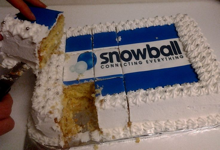 Every Friday is Cake Day at Snowball! :) And we ain't complaining...