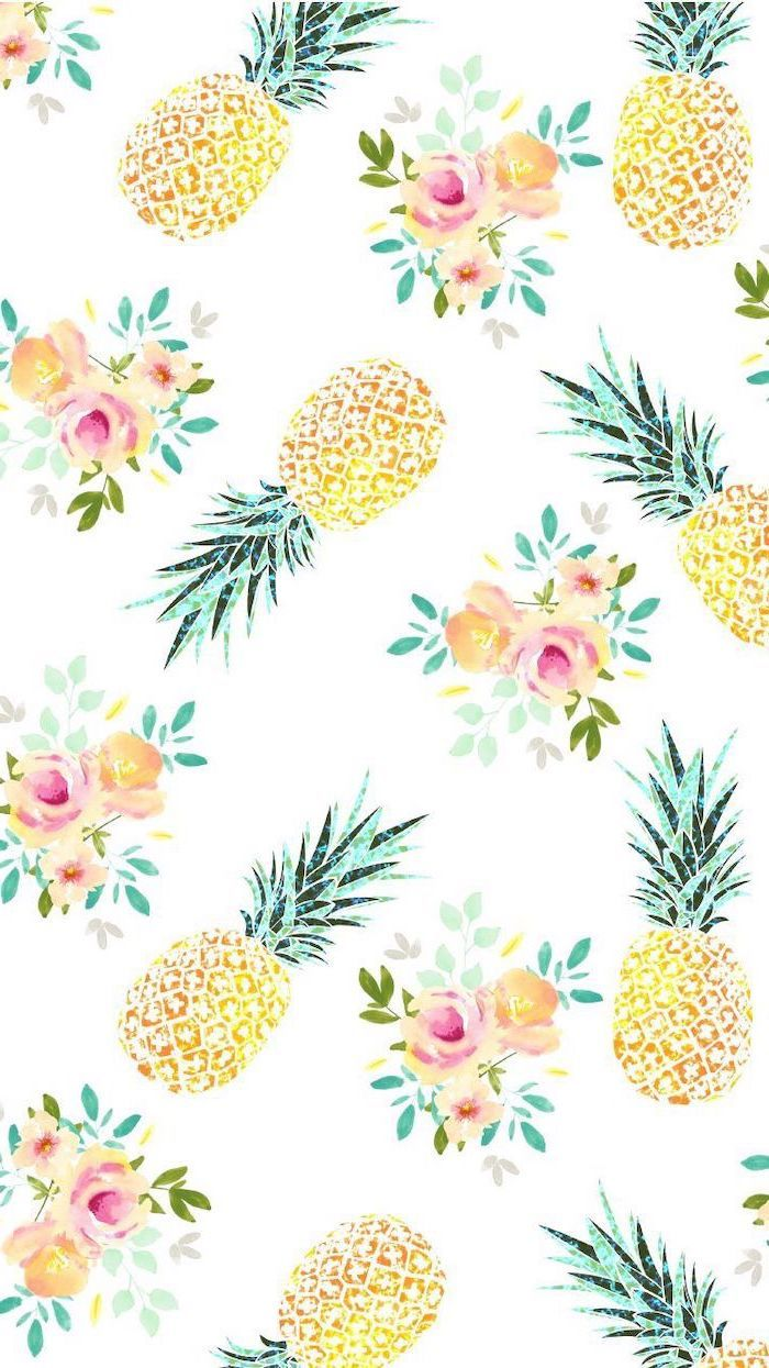 backgrounds cute background kawaii wallpapers flowers girly grace screen amazingly iphone 1001 lifestyle phone desktop pineapple