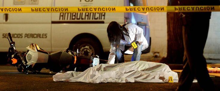 PGJDF investiga homicidios en la colonia Narvarte