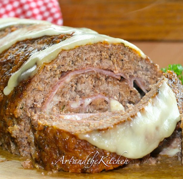 Sicilian Meatloaf- one of the best Meatloafs I've ever made!
