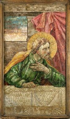 Louis C. Tiffany and the Art of Devotion   MOBiA   Museum of Biblical Art. Head of Saint Andrew.