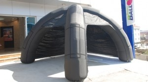 four arcs tent inflatable