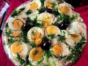ΜΑΓΕΙΡΙΚΗ ΚΑΙ ΣΥΝΤΑΓΕΣ: Σαλάτα με πατάτες και πολύ ωραία σάλτσα !!