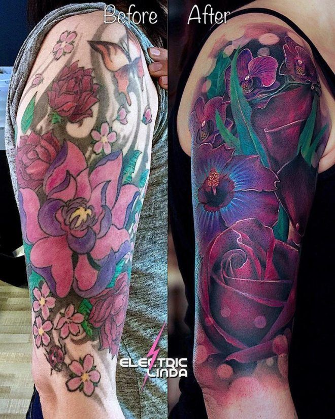 Everything You Need To Know About Coverup Tattoos Arm Cover Up