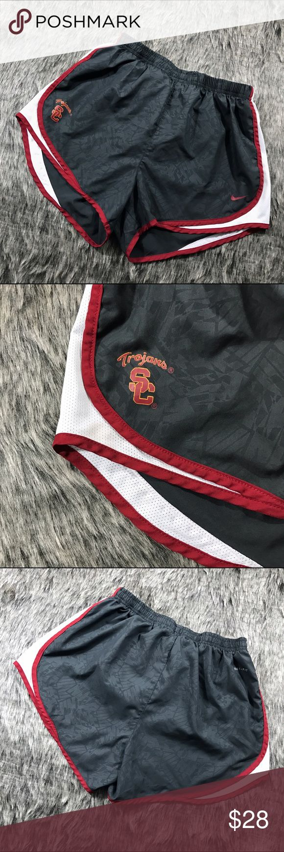NIKE USC TROJANS Dri Fit Shorts Great preloved condition. Jogging Shorts with underwear insert. Nike Shorts
