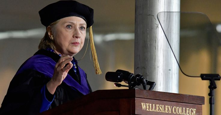 Hillary Clinton Compares Trump To Nixon In Passionate Commencement Speech | HuffPost