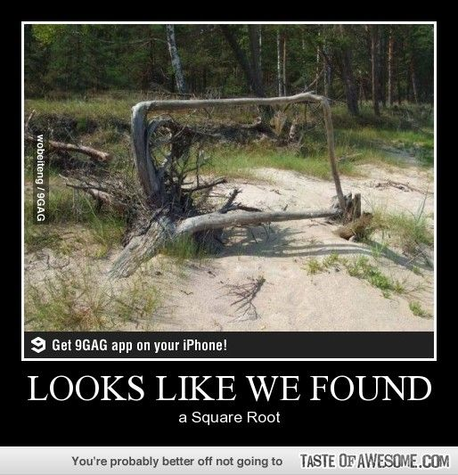 Finding a square root
